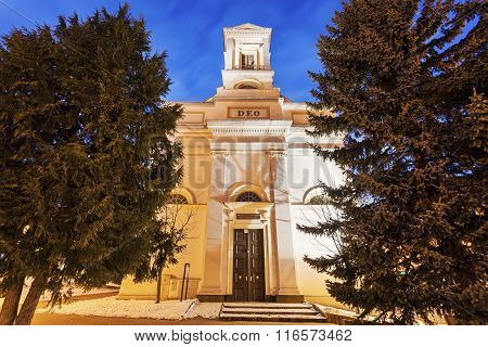 Evangelical Church In Poprad