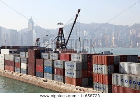 Container Terminal In Hong Kong