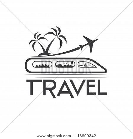 Travel Vector Design Template