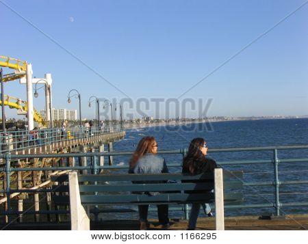 Girls At Bench