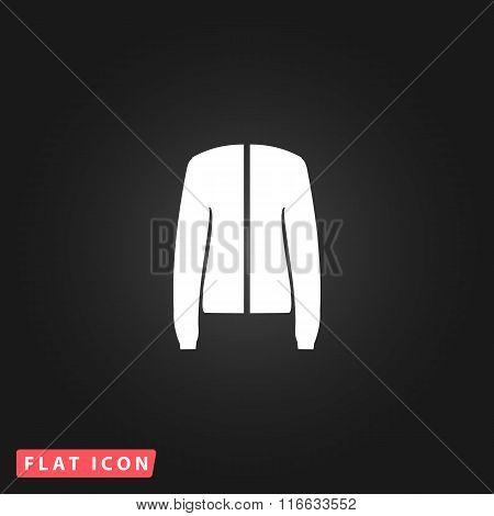 Jacket flat icon