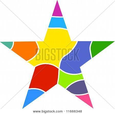 Colourful Star