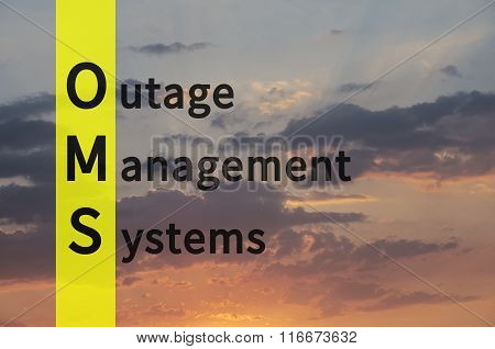 Outage Management Systems