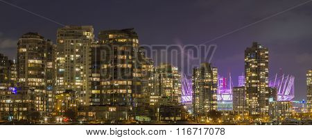 Vancouver Panorama with B.C. Place