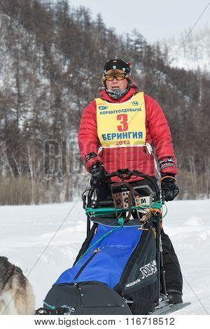 Kamchatka Sled Dog Racing. Russia, Far East