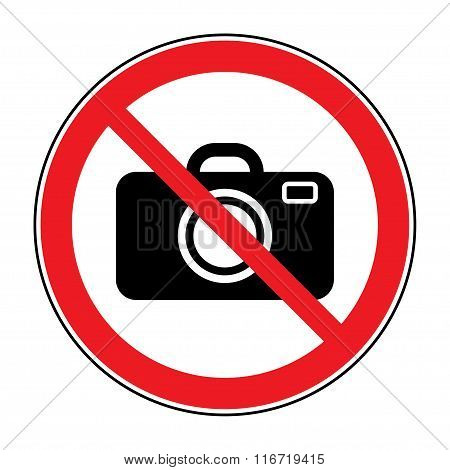 No Photo Sign