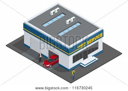 Repair garage, Auto mechanic service, maintenance car repair and working, auto engine repair, Mechan