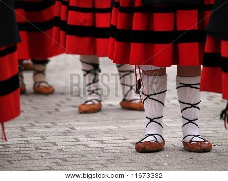 Basque Folclorical Dance Dress