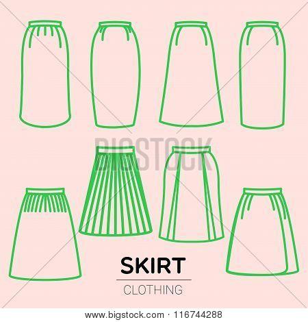Skirt Line
