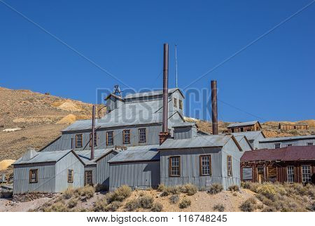 Abandoned Factory In Bodie State Park