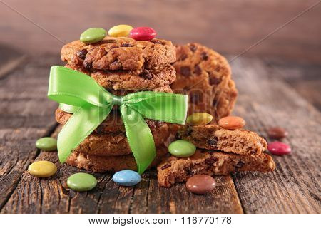 cookies and smarties