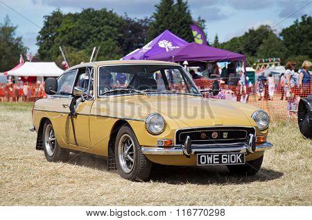 Vintage MG sportscar