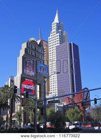 A New York New York Hotel & Casino Shot
