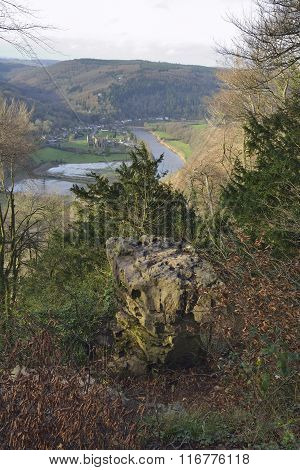 Devils Pulpit & Tintern Abbey