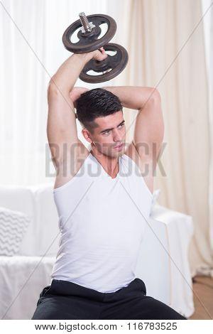 Handsome Healthy Trainer
