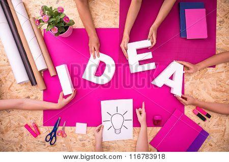 Creating Idea Word
