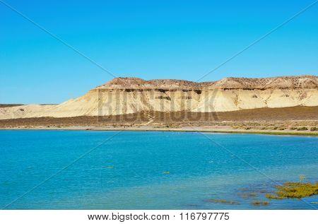 The ocean in front of Cerro Avanzado