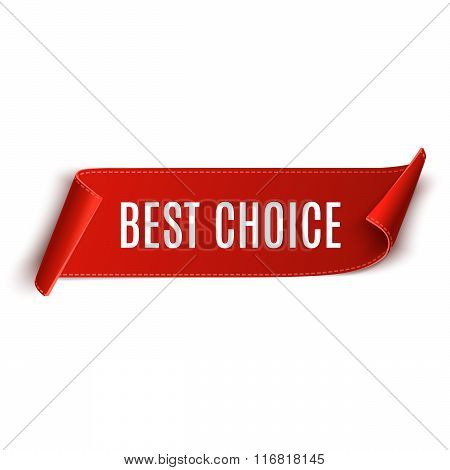 Best Choice Vector Banner.