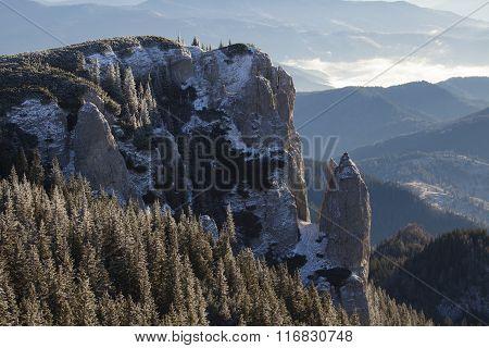Mountain Peak In Daylight