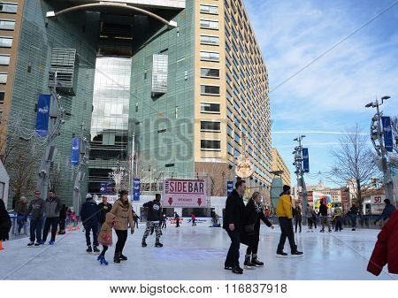 Campus Martius Skaters