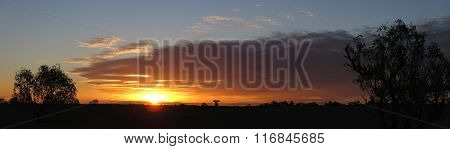 unset at Cape Range National Park, Western Australia