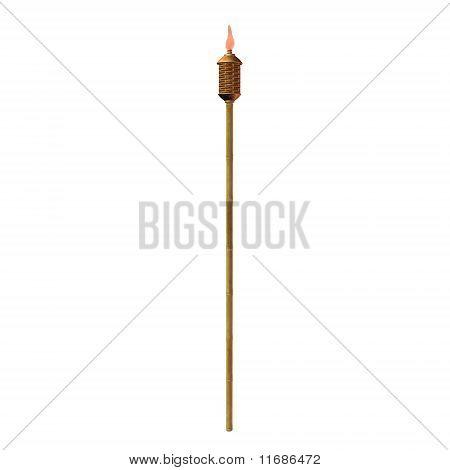 Tiki Torch Illustration