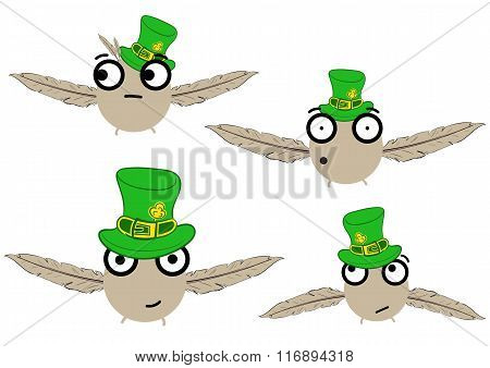 Birdies for a St. Patrick's Day