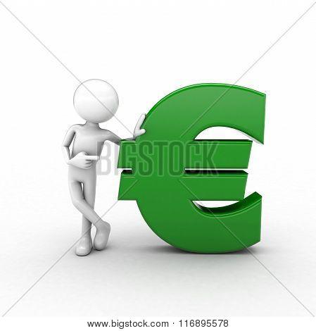 Green Euro Man