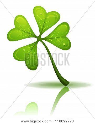 St. Patrick's Holidays Four Leaf Clover