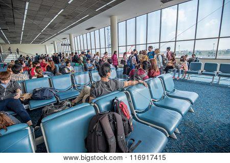Departures Room