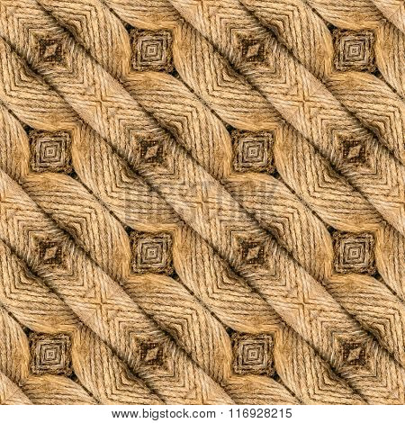 Sandy Brown Doormat Seamless Pattern