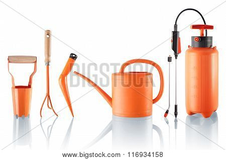 Set Of Useful Gardening Tools