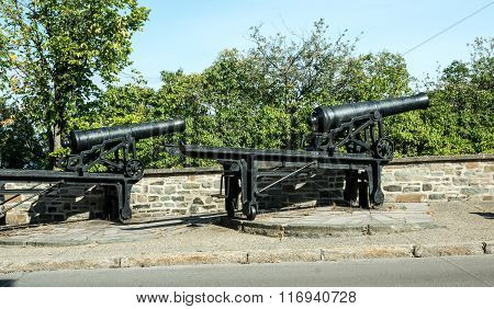 Guns On The Ramparts