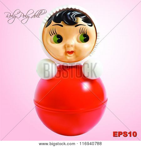 vector toy roly-poly