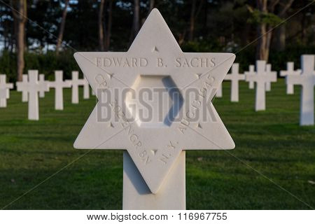 Normandy American Cemetery Colleville