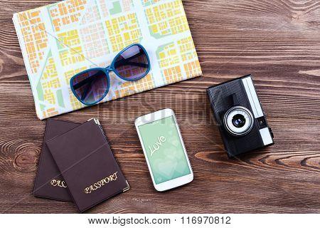 Smart phone with romantic screensaver