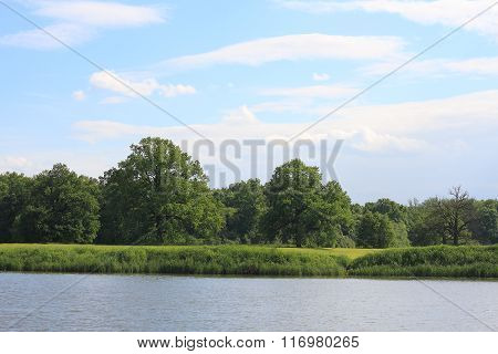 Lake In A Floodplain