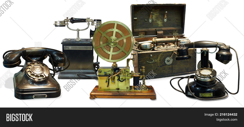 Old Telephones, Image & Photo (Free Trial) | Bigstock