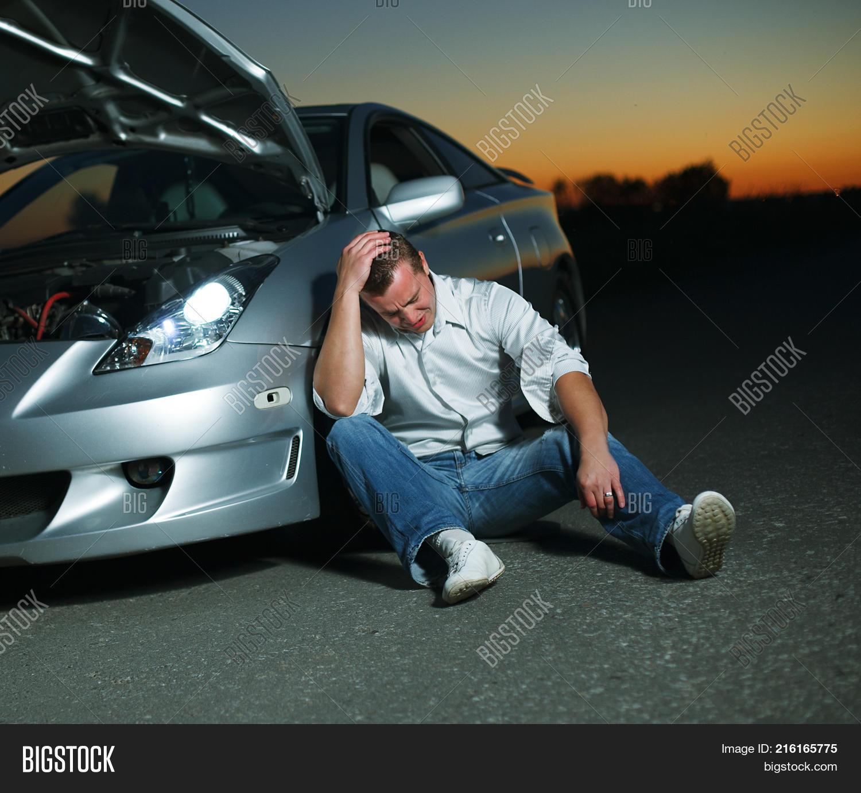 Car Broke Down >> Car Broke Down On Image Photo Free Trial Bigstock