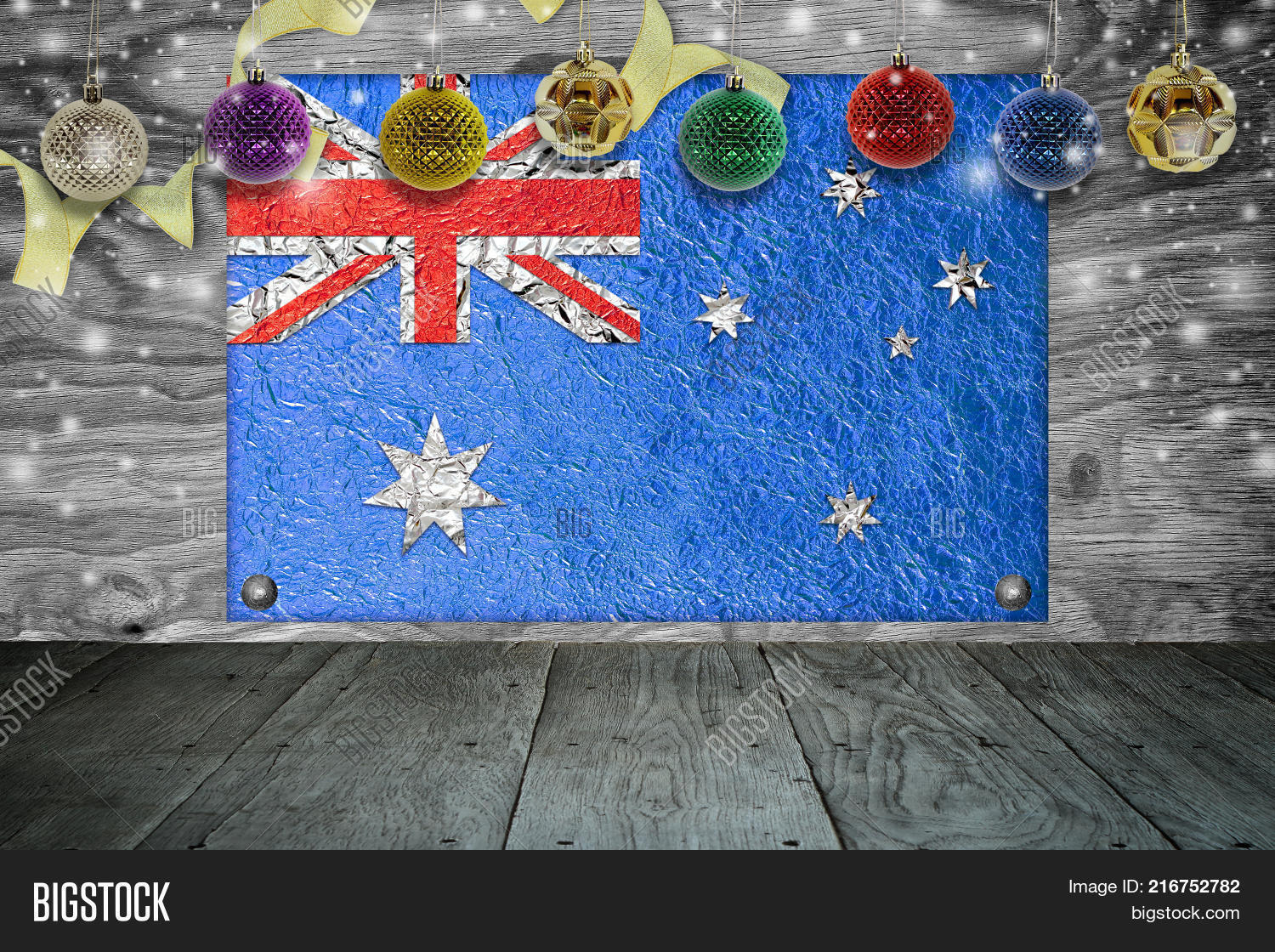 Christmas In Australia Background.Christmas Background Image Photo Free Trial Bigstock