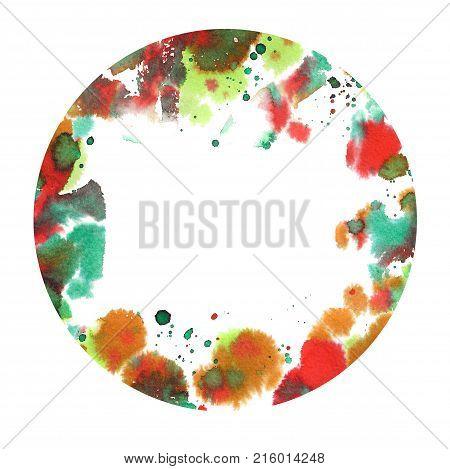 Watercolor Splash Design