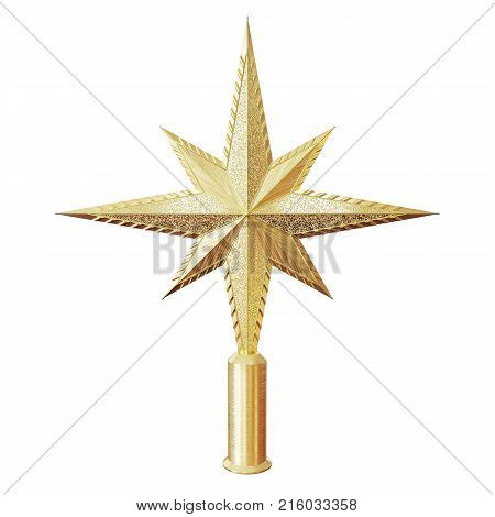 Christmas Star Tree Topper