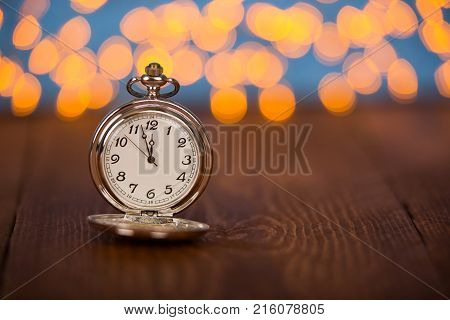 New year concepts countdown clock new year working