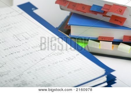 Books And Notes Close