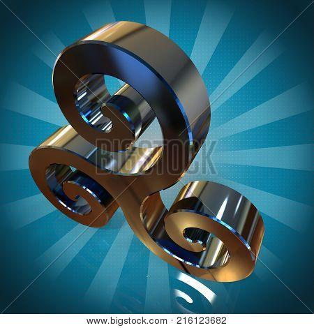 Triskel - 3D Illustration