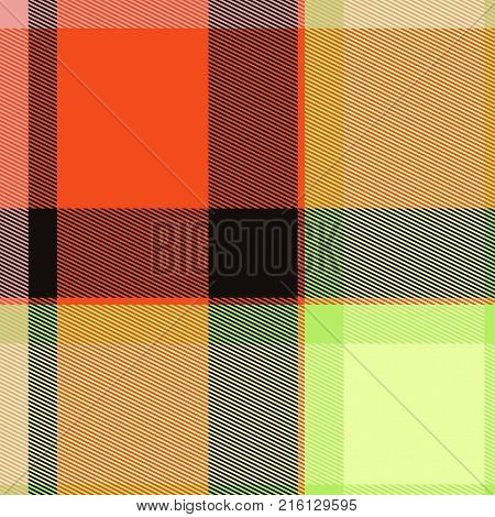 A seamless plaid background textile cloth pattern.