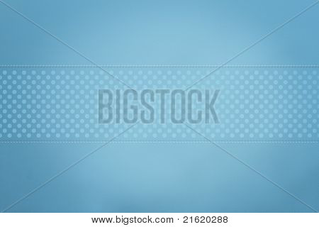 Blue Polka Dotted Background