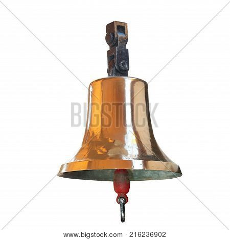 Ships Bell From Brass