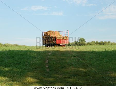 Wagon On A Hill