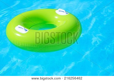 Green tire swimming swim swimming pool pool leisure